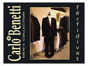 CarloBenetti ® férfi öltönyök, szmokingok, frakkok - Győr