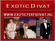 Exotic férfi divat - esküvői, alkalmi öltönyök