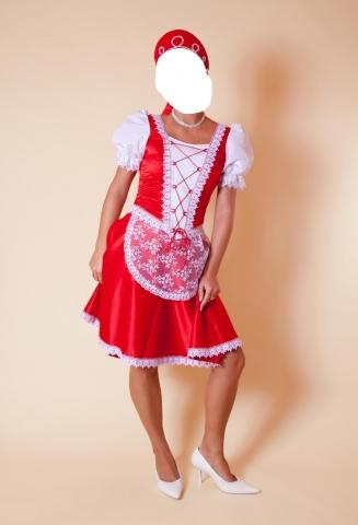 Elado piros magyaros menyecske ruha f4f760a84b